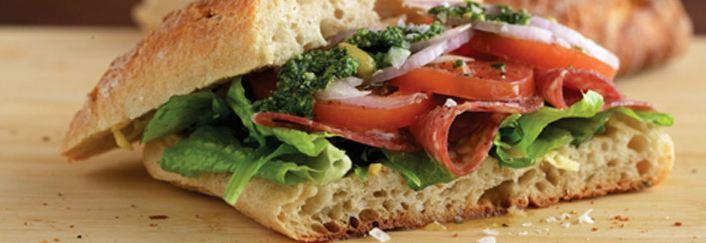 Fresh Stop panini