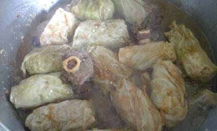 cabbage & frikkadell