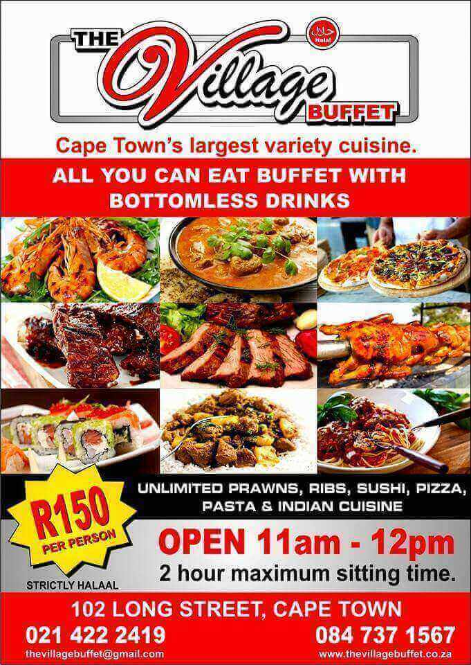 Just Like Home Toy Restaurant Menu : The village buffet cape town cbd hungry for halaal