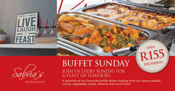 Sabria's Buffet Special Hungry for Halaal