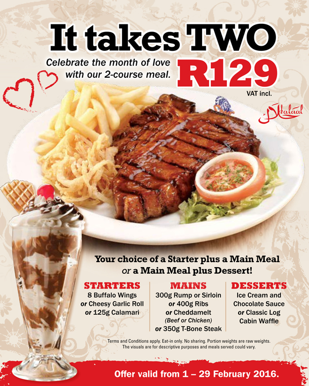Spur Valentine Hungry for Halaal