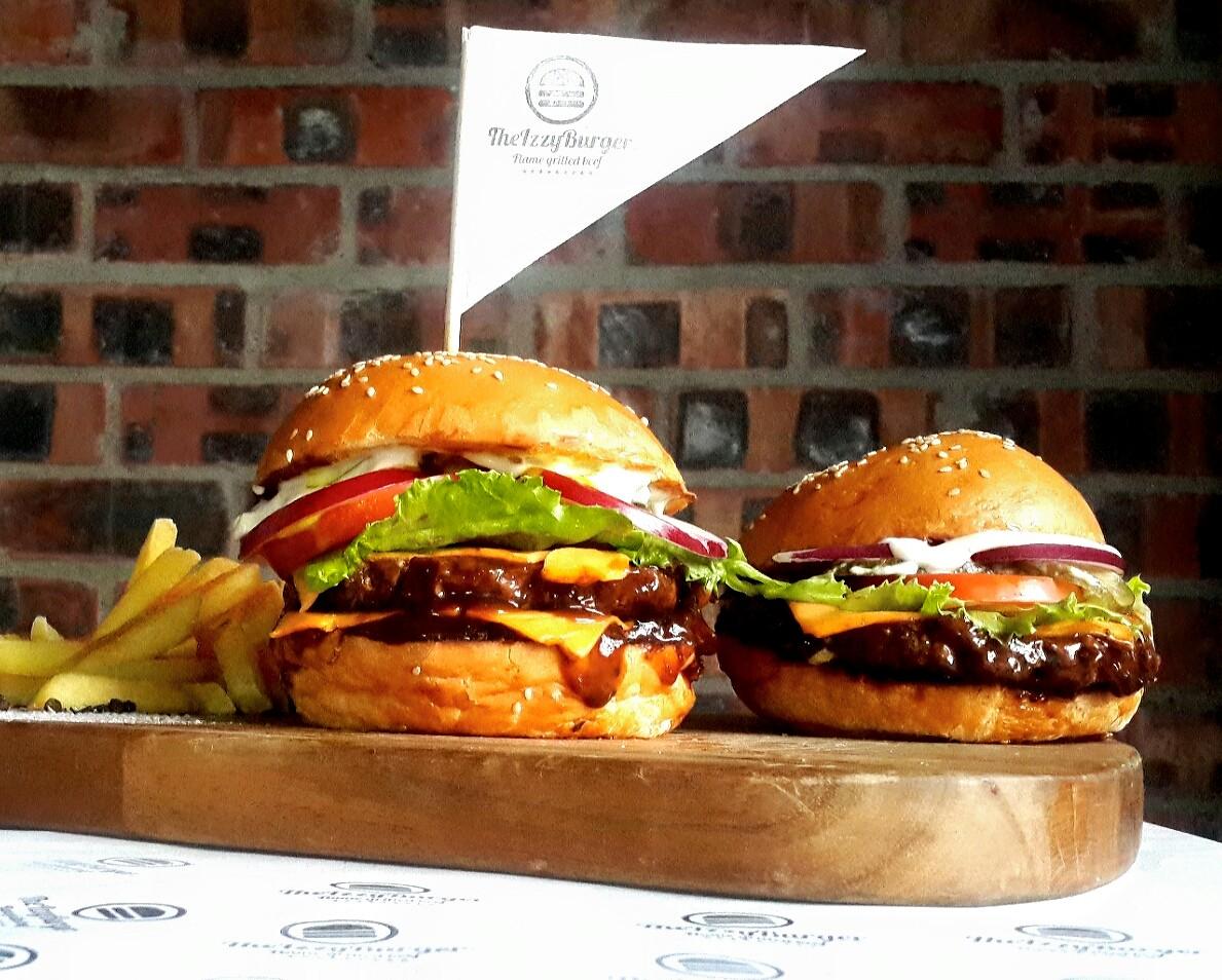 Izzy burger