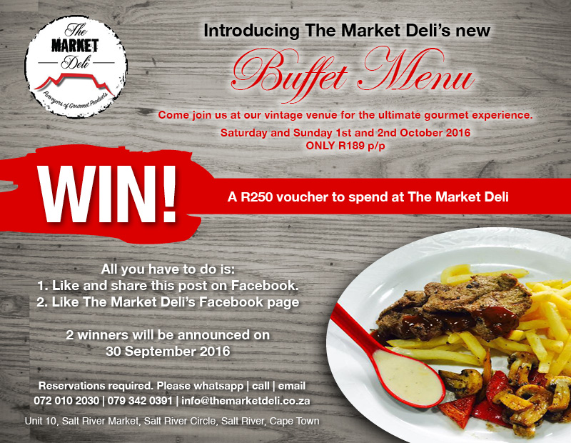 The Market deli Hungry for Halaal