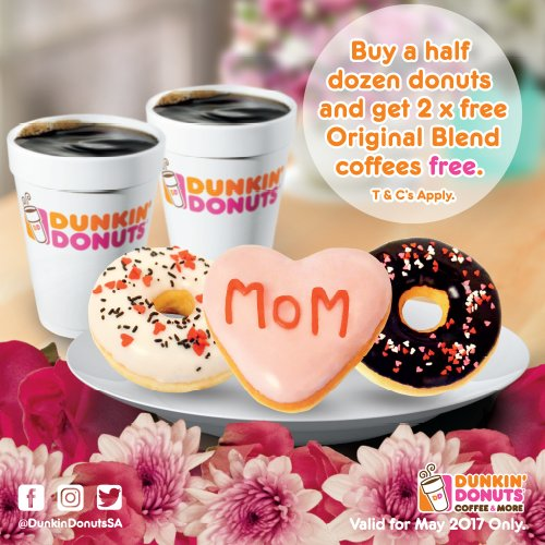 Dunkin Donuts Mothers Day