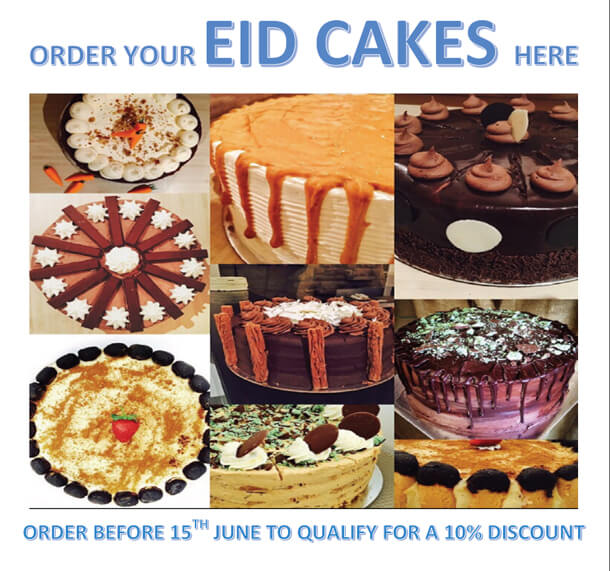 Dulce Cafe Ramadaan Eid Cakes Offer