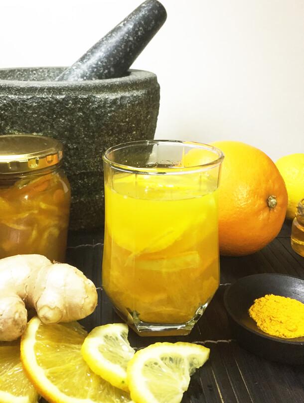 Citron Tea Hungry for Halaal flu remedy
