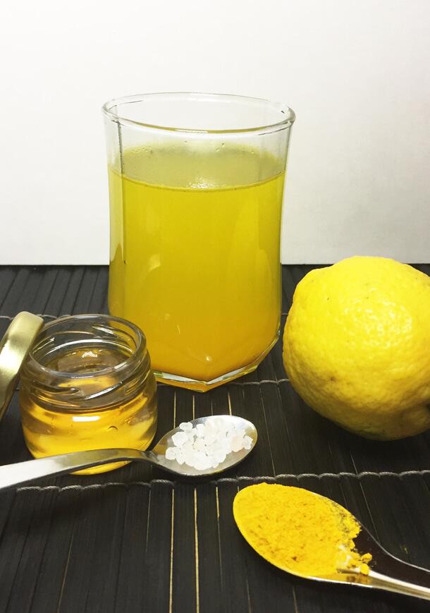 Honey Lemon Turmeric Tea Hungry for Halaal flu remedy