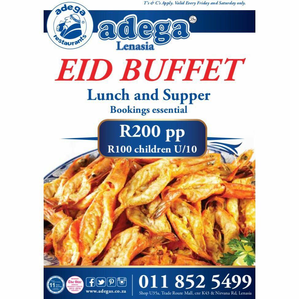 Adega lenasia Eid buffet