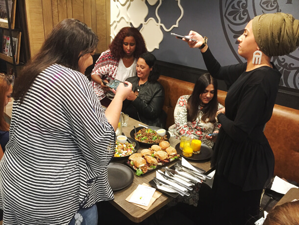 Mugg and Bean Blogger night Hungry for Halaal
