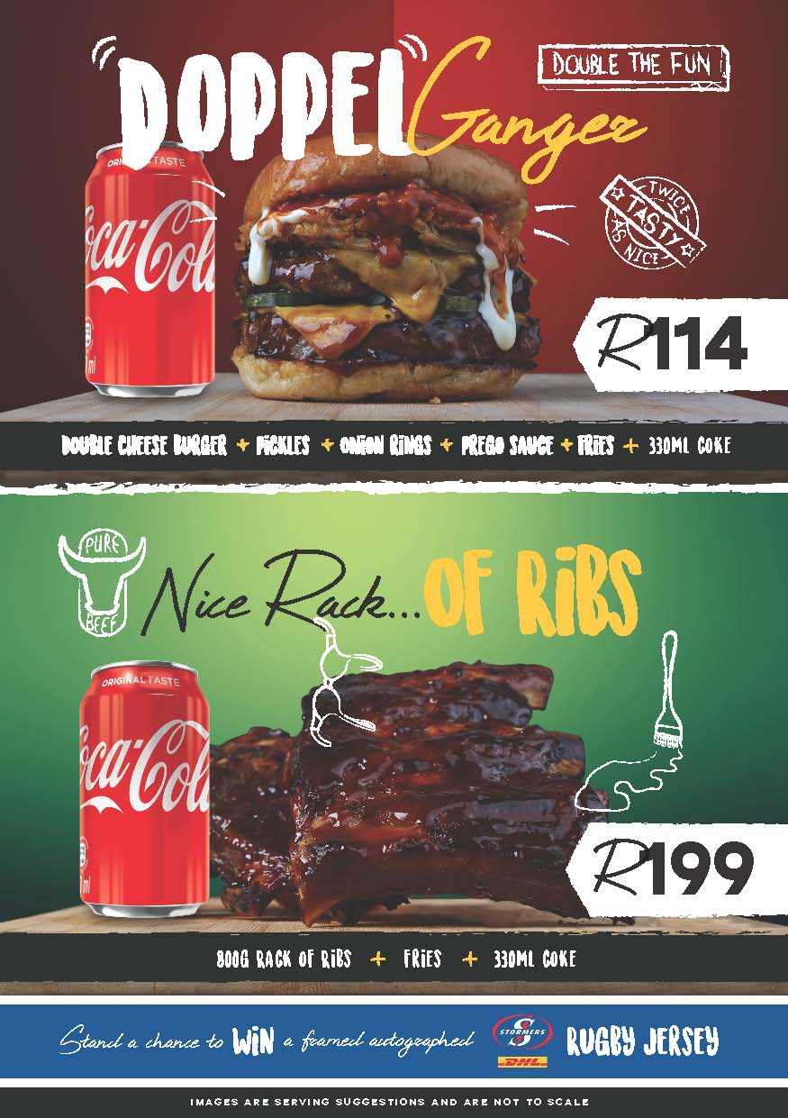 Rugby Specials Brocka Hungry for halaal