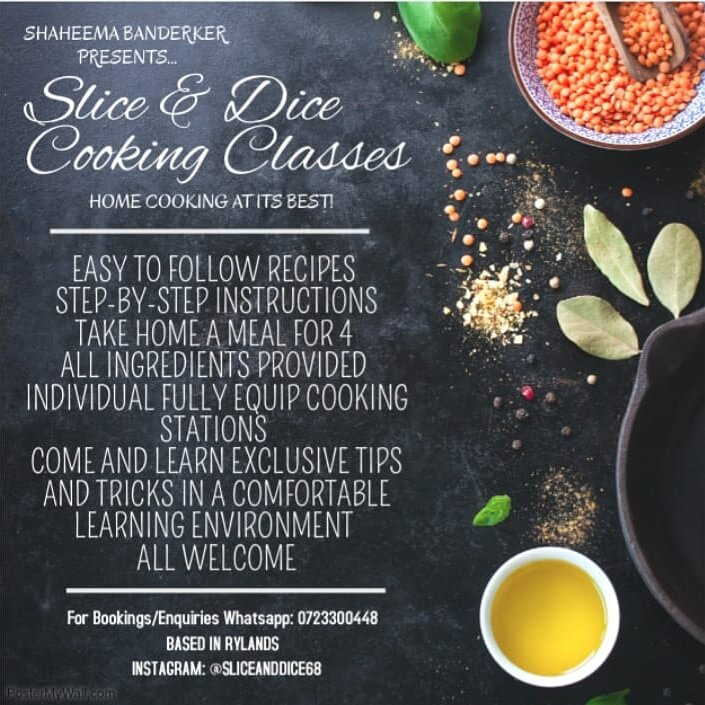 Slice and Dice Cooking Classes Hugry for halaal