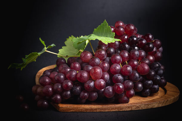 Sunnah Fruits Grapes Hungry for Halaal