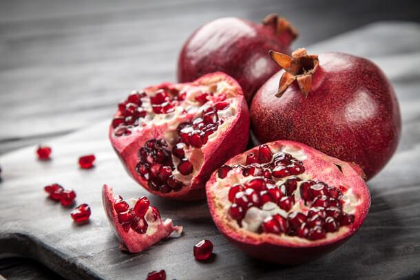 Sunnah Fruits Pomegranates Hungry for Halaal