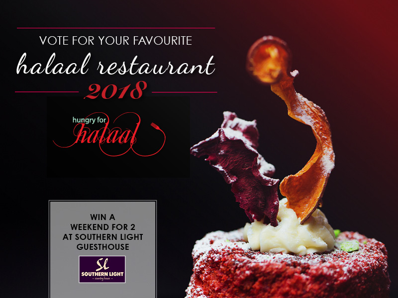 VOTE Top 5 Restaurants banner 2018 Hungry for Halaal